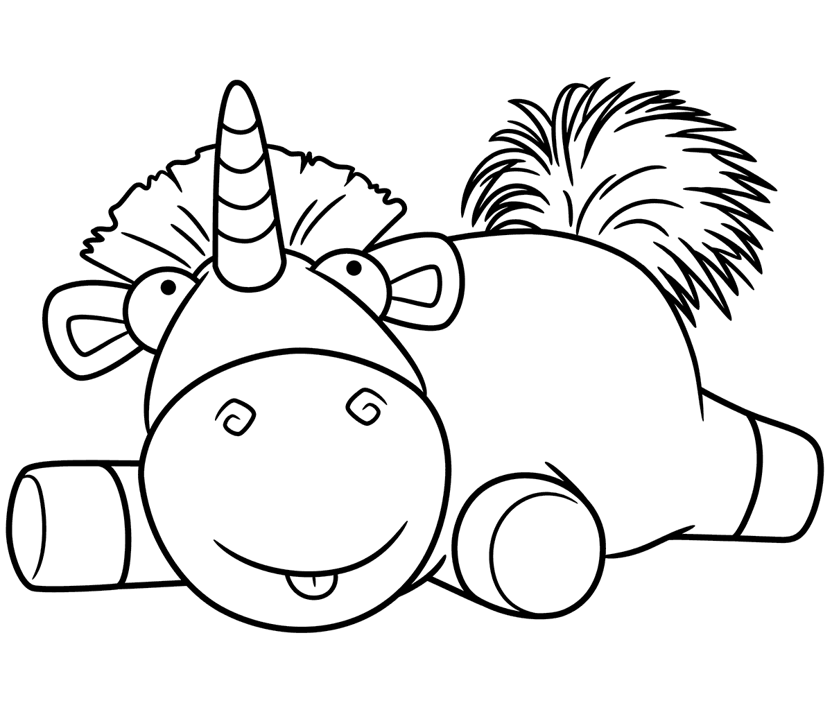Image Result For Agnes And Unicorn Coloring Page