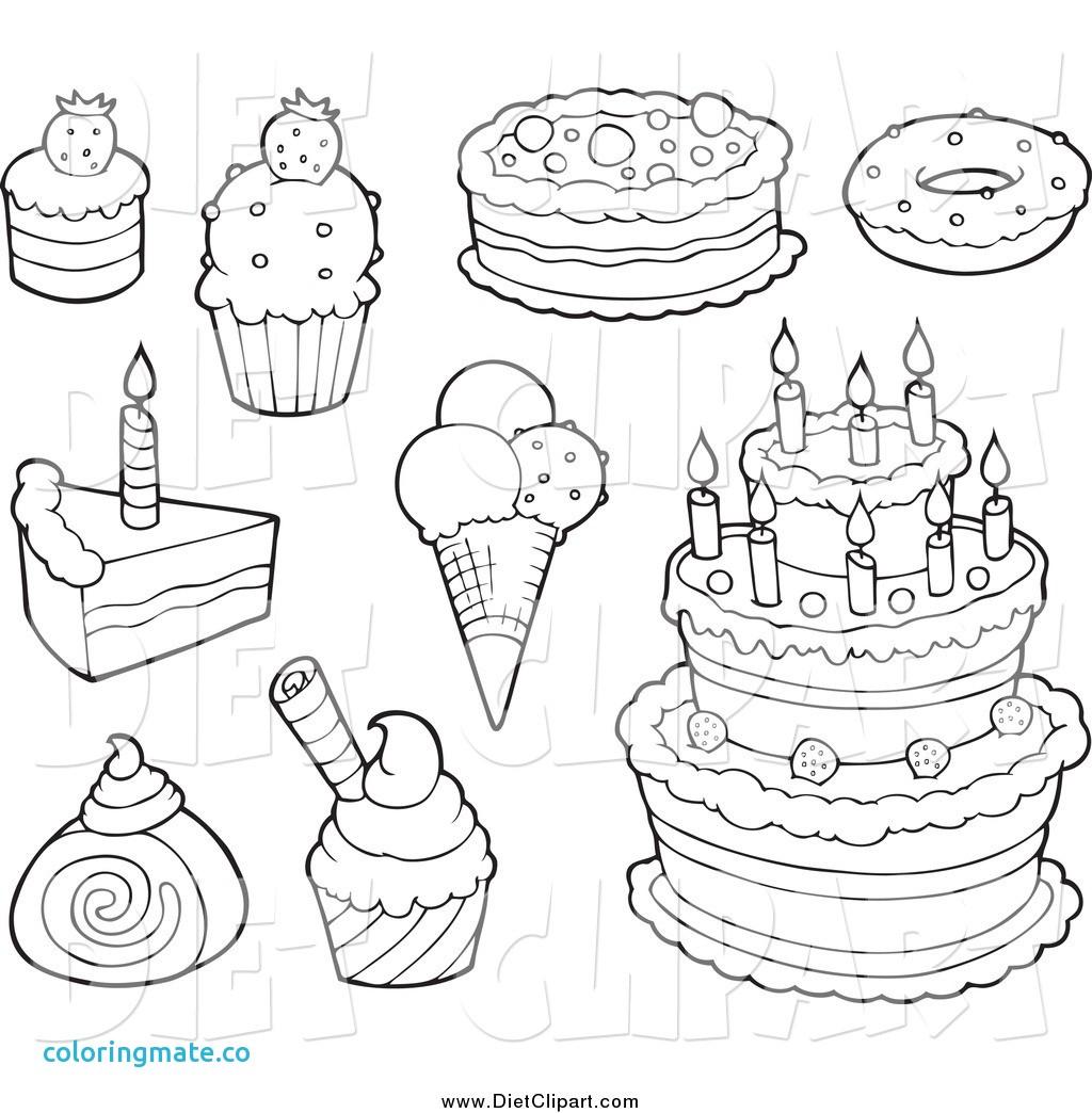 1024x1044 Dessert Coloring Pages Elegant Dessert Coloring Pages Cake Ideas