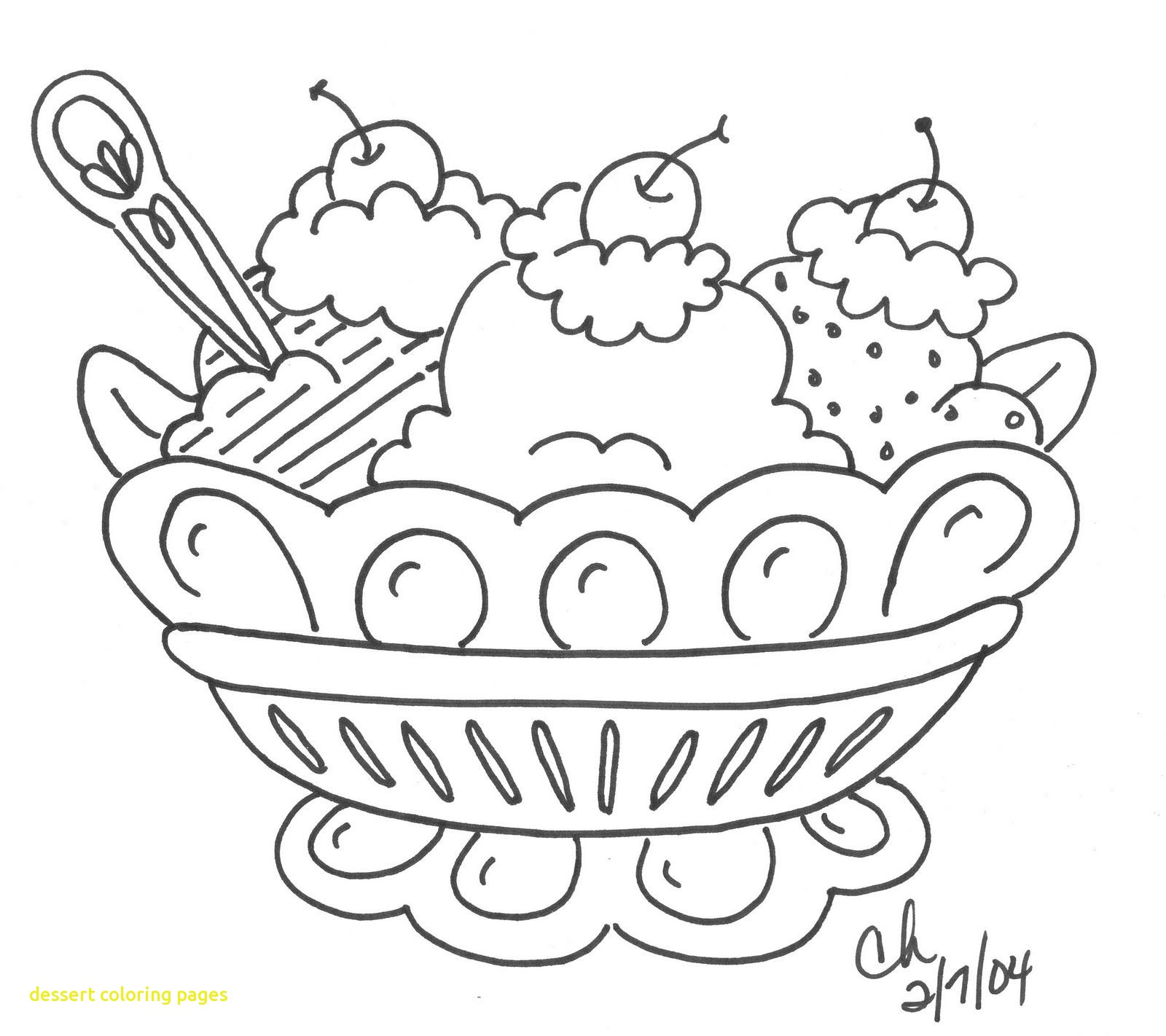 1600x1422 Dessert Coloring Pages With Dessert Coloring Pages To Download