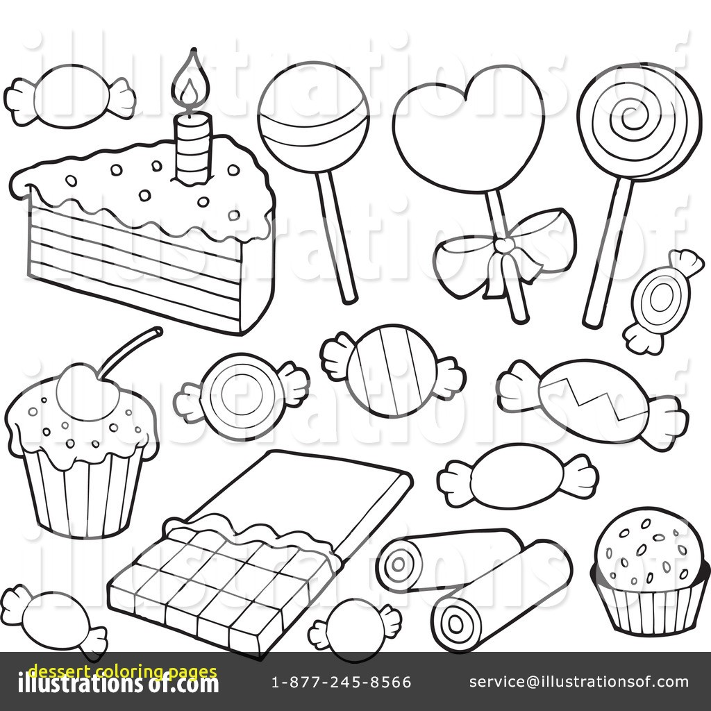 1024x1024 Dessert Coloring Pages With Dessert Coloring Pages