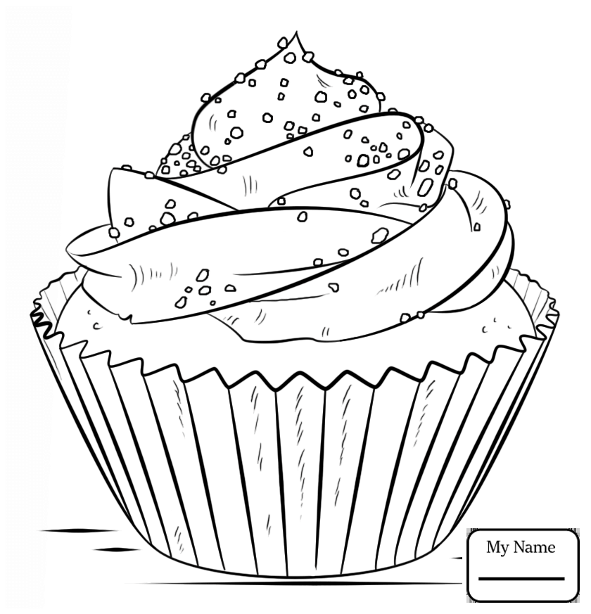 840x873 Home Housework Desserts Cupcake Desserts Coloring Pages For Kids
