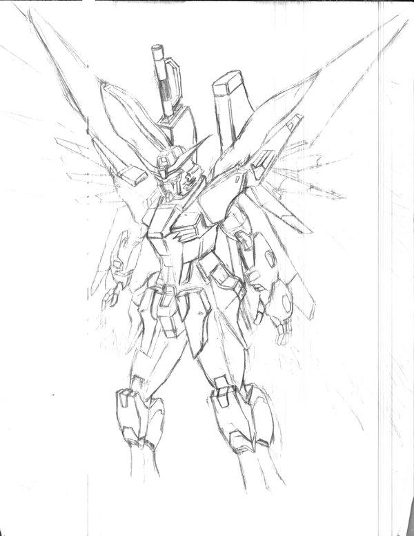 600x776 Destiny Gundam By Daijoboudesuka