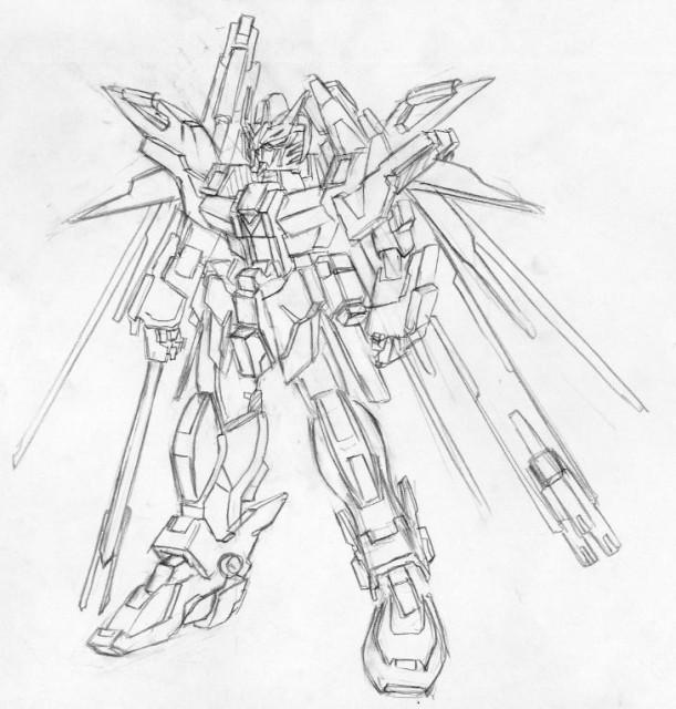 611x640 Destiny Gundam Type B By Mvrs