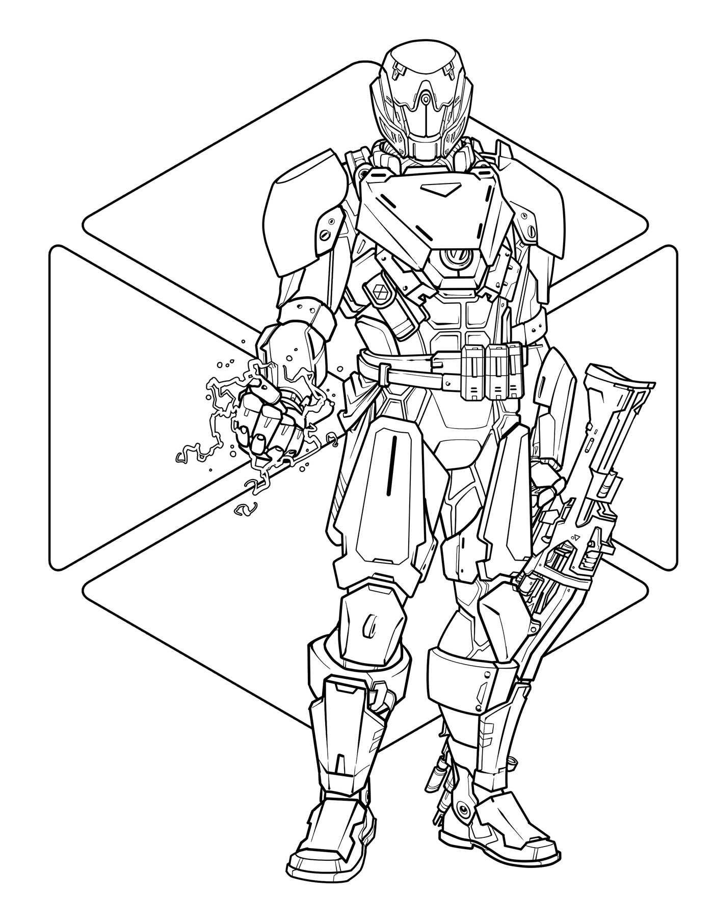 1399x1811 Destiny The Official Coloring Book (9781608879229