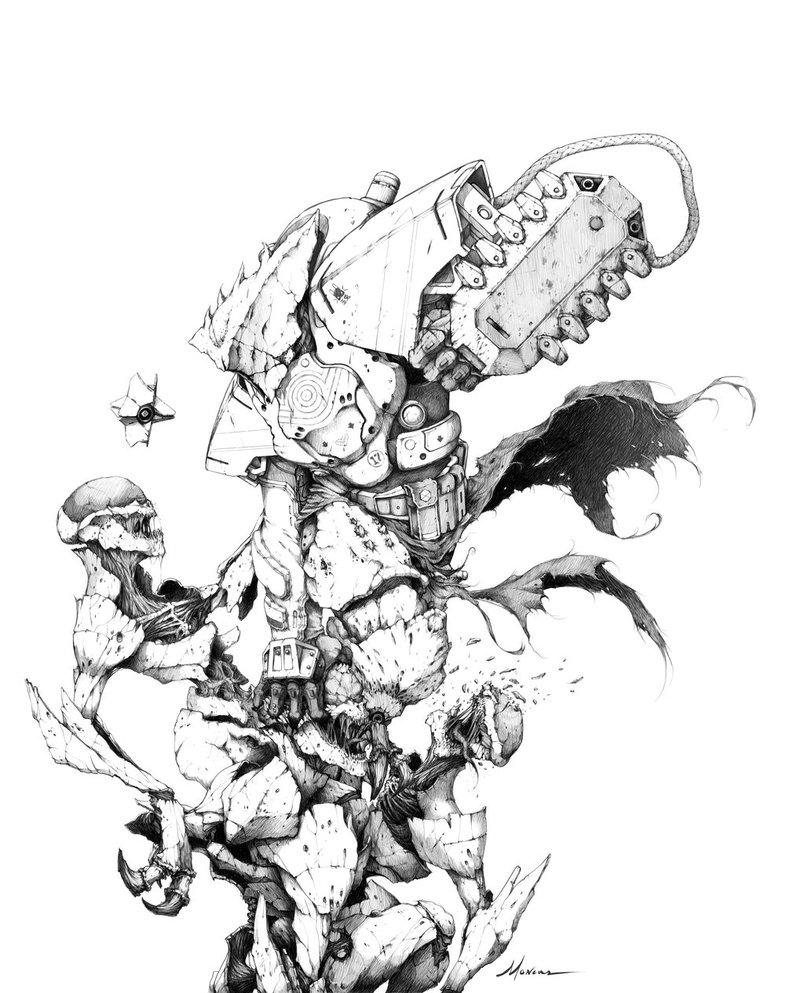 804x993 Destiny Titan By Brianmoncus