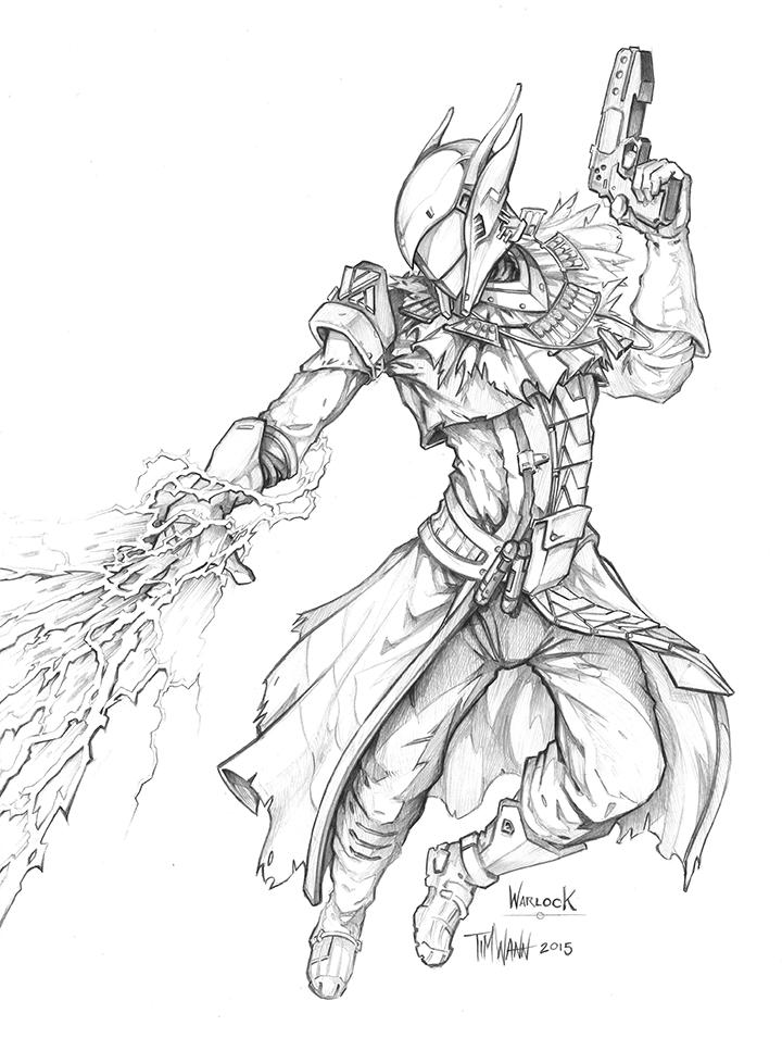 720x978 Destiny Warlock Stormcaller By Timwann