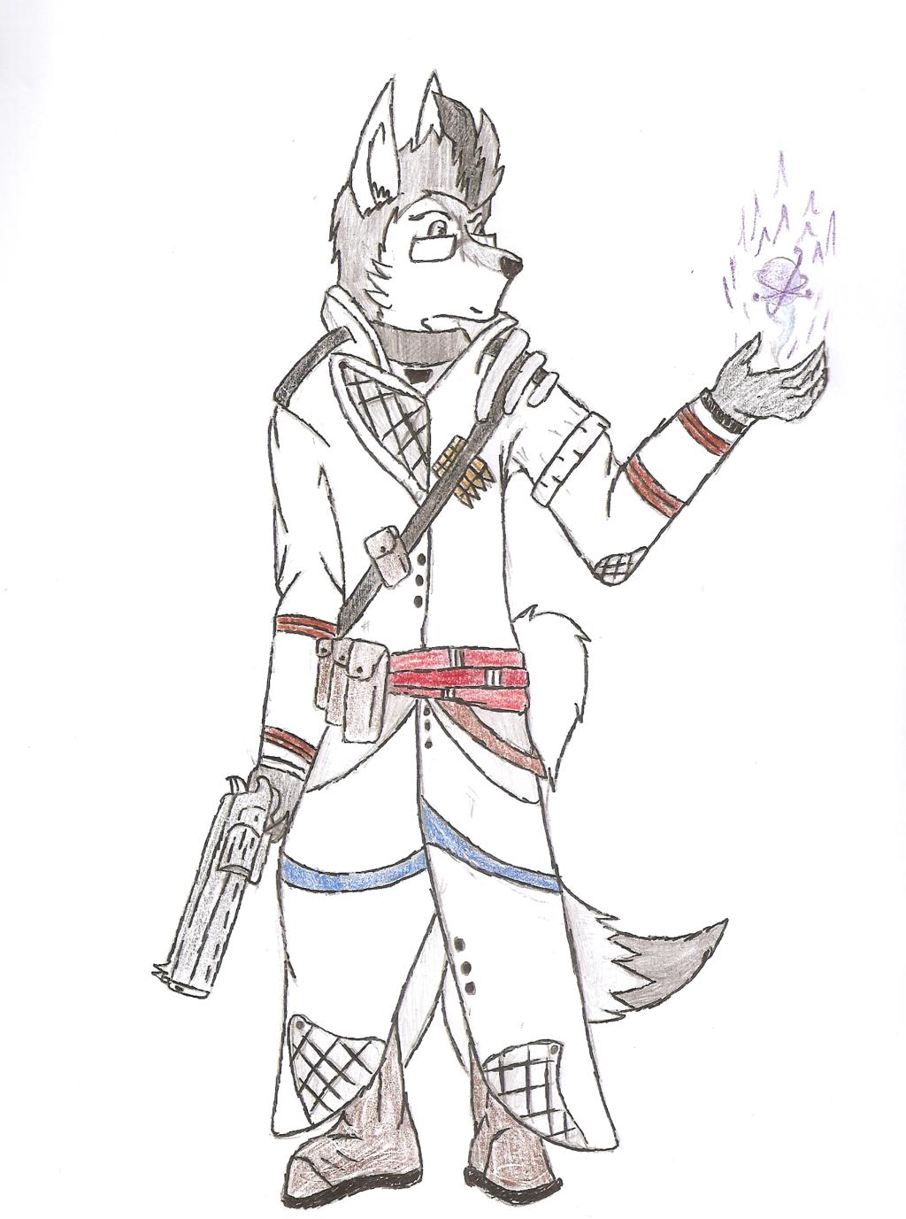 1024x1377 Destiny Warlock By White Fox77