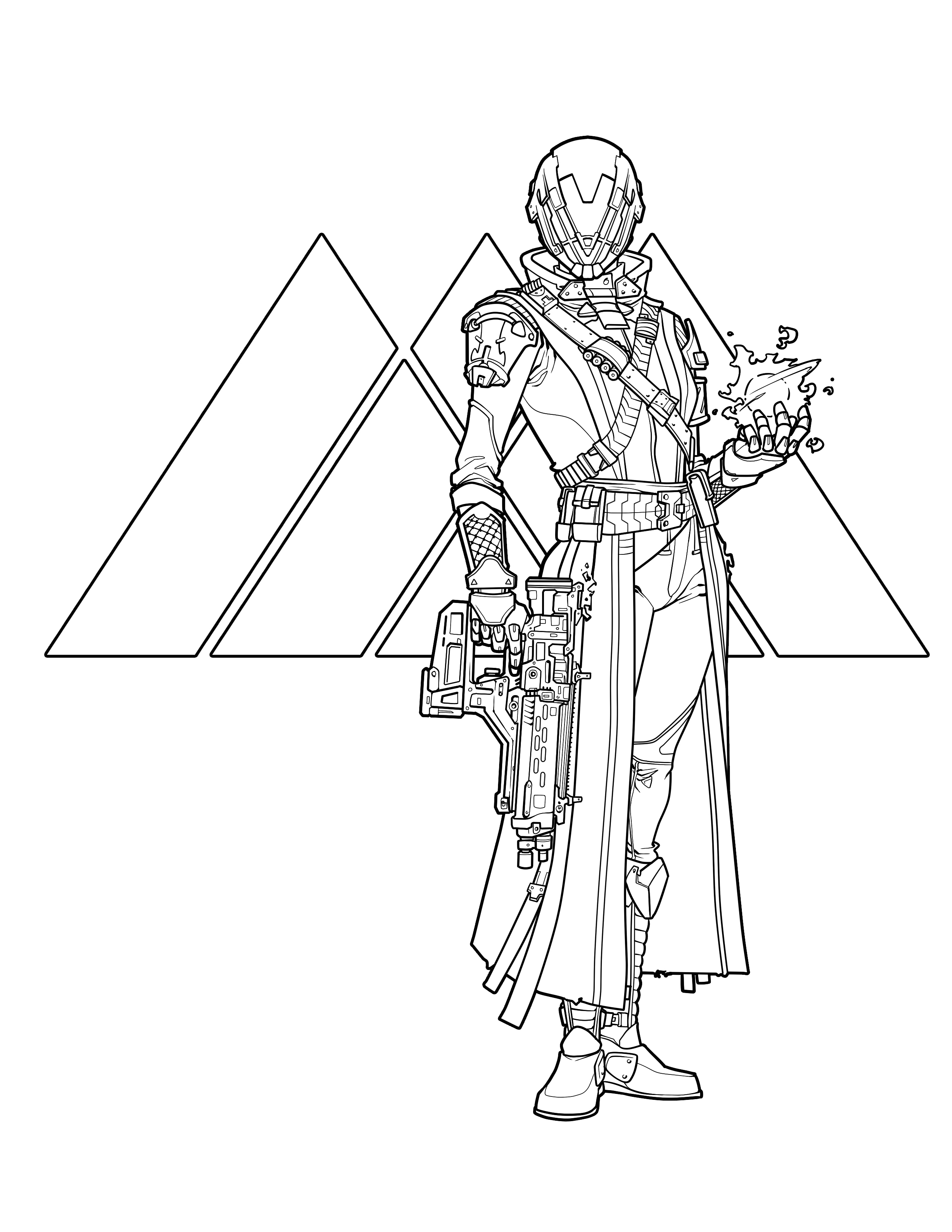 2550x3300 Official Destiny Colouring Book Looks More Relaxing Than Destiny