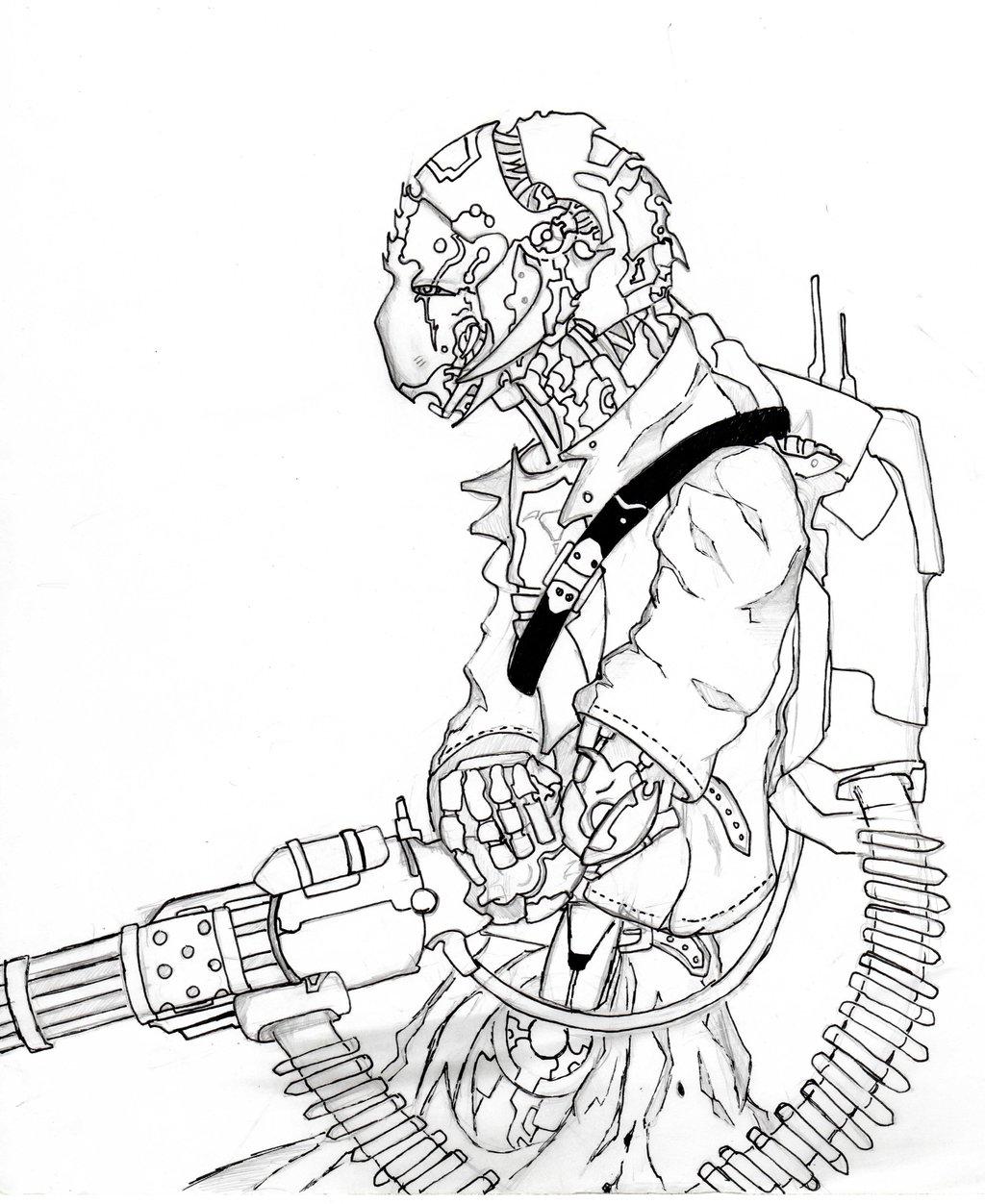 1024x1252 Destiny Exo Concept By Gunslingerrhy