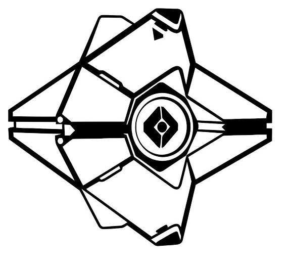 570x526 Destiny Ghost Decal
