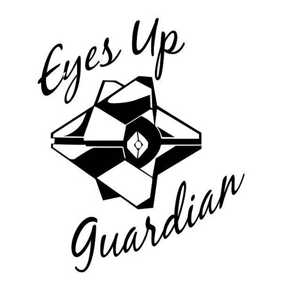 570x585 Destiny Decal Eyes Up Guardian Ghost