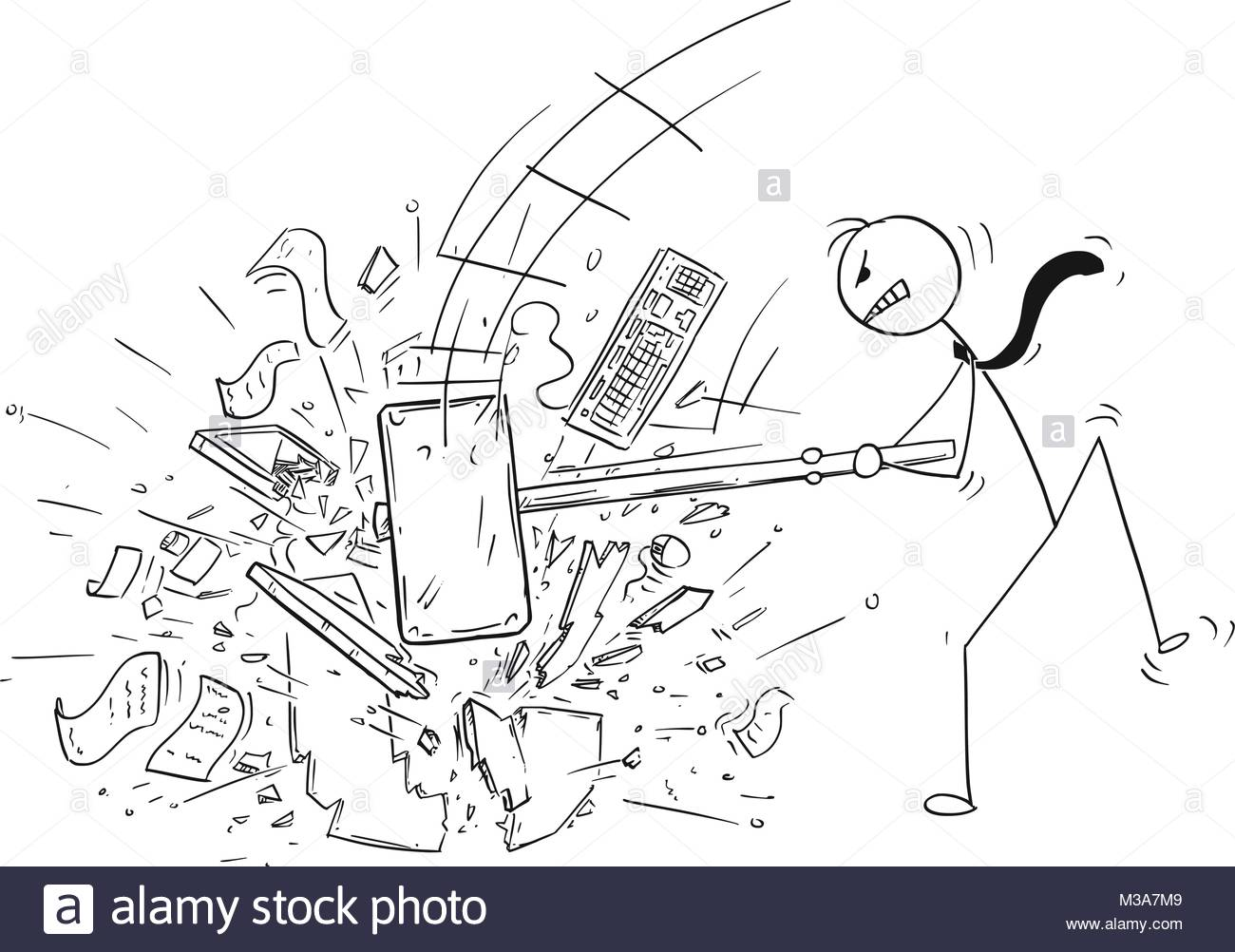 1300x1002 Destroy Black And White Stock Photos Amp Images
