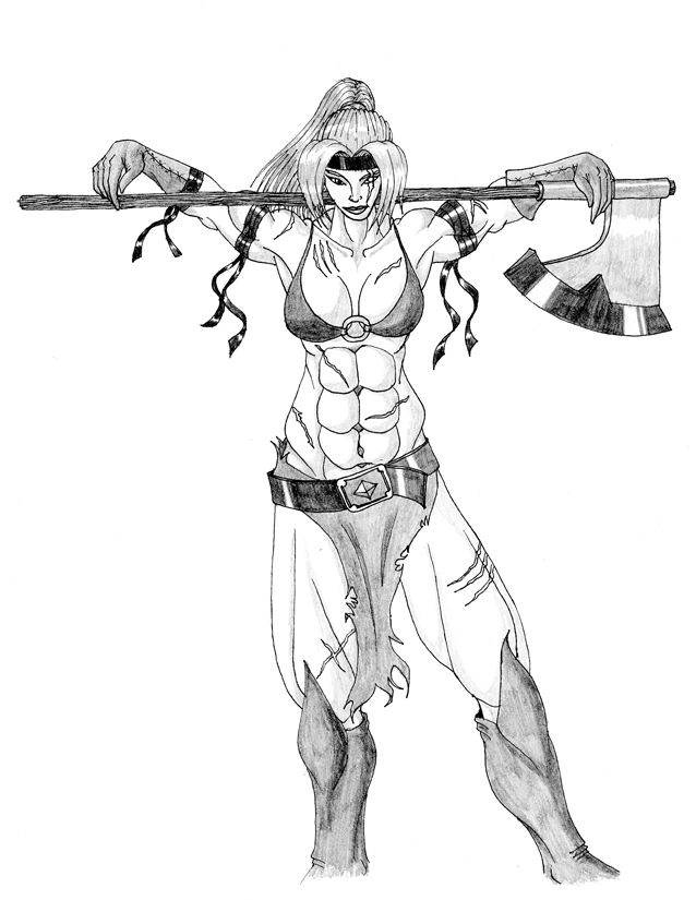 638x825 Drawings Of My Pathfinder Characters