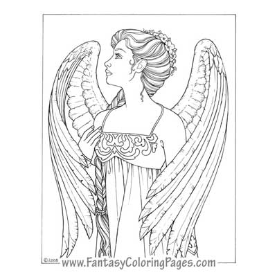 400x400 Fantasy Coloring Pages The Best Coloring Pages