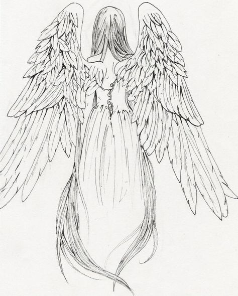 474x590 One Of The Few Angels I Could Find From Behind. I Think This Is