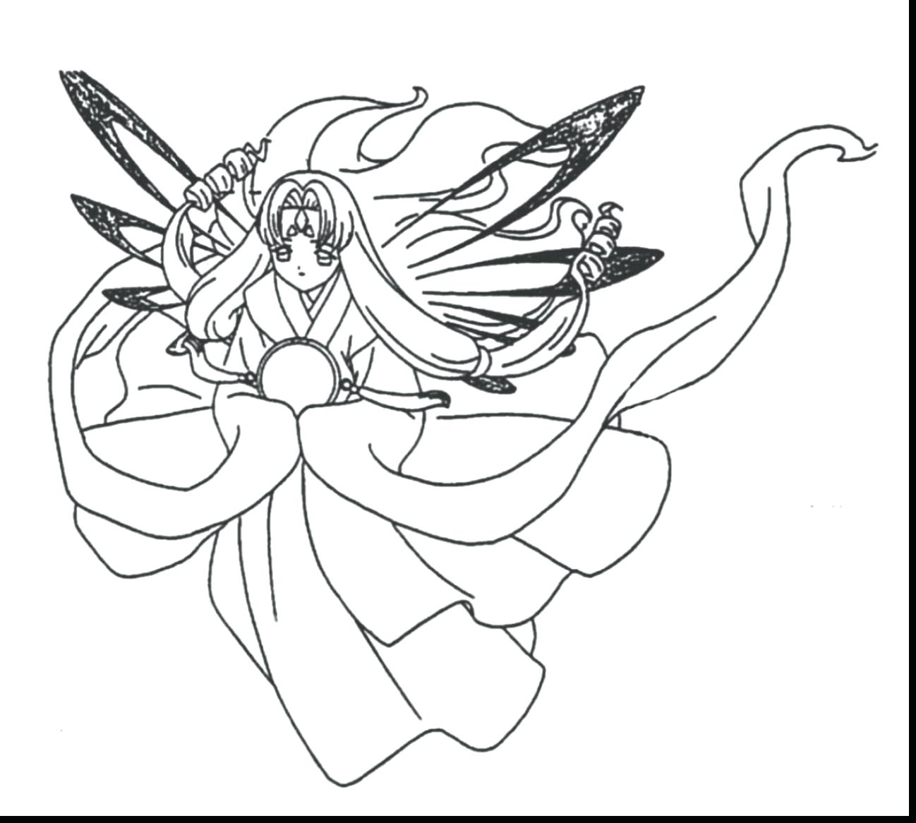 1298x1166 coloring Anime Coloring Pages For Adults Terrific Detailed With