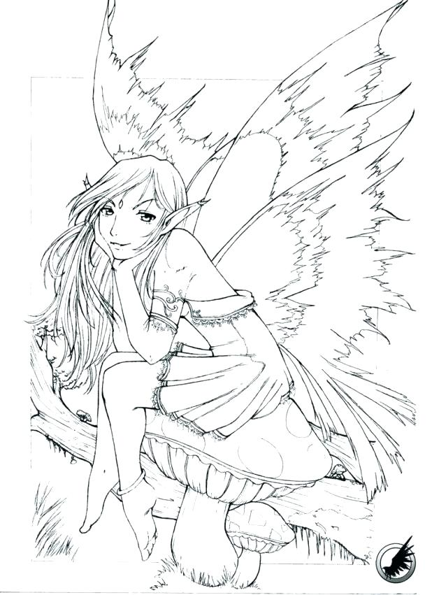 618x851 Anime Coloring Pages For Adults As Detailed Coloring Pages