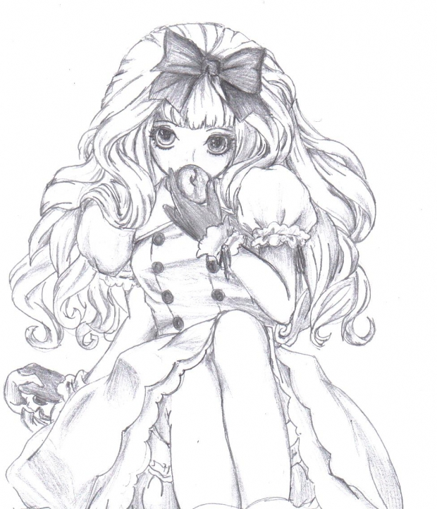 620x722 Anime Girl by mustachefartlol on DeviantArt