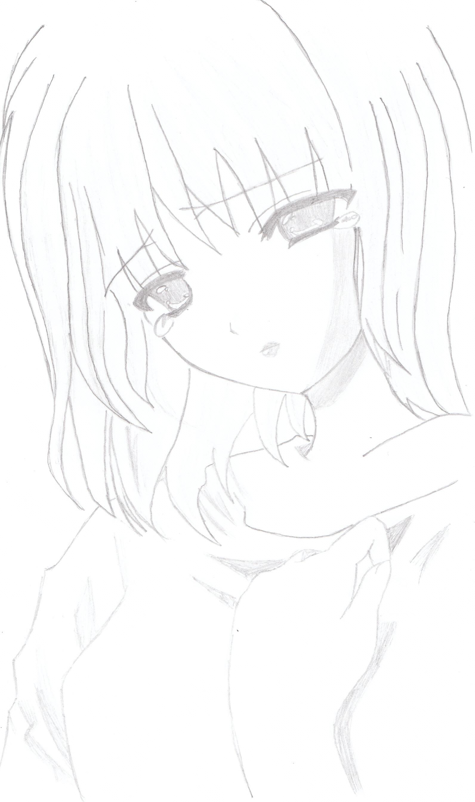 1592x2688 Cry Anime Girl by randomperfection on DeviantArt