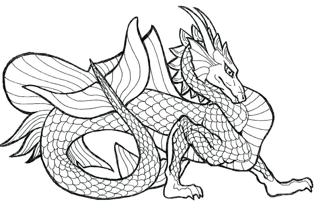 Detailed Dragon Drawing at GetDrawings   Free download