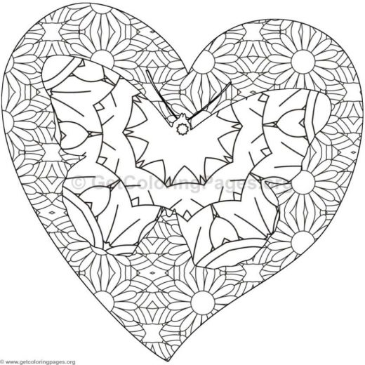 Detailed Heart Drawing At Getdrawings Com Free For Personal Use