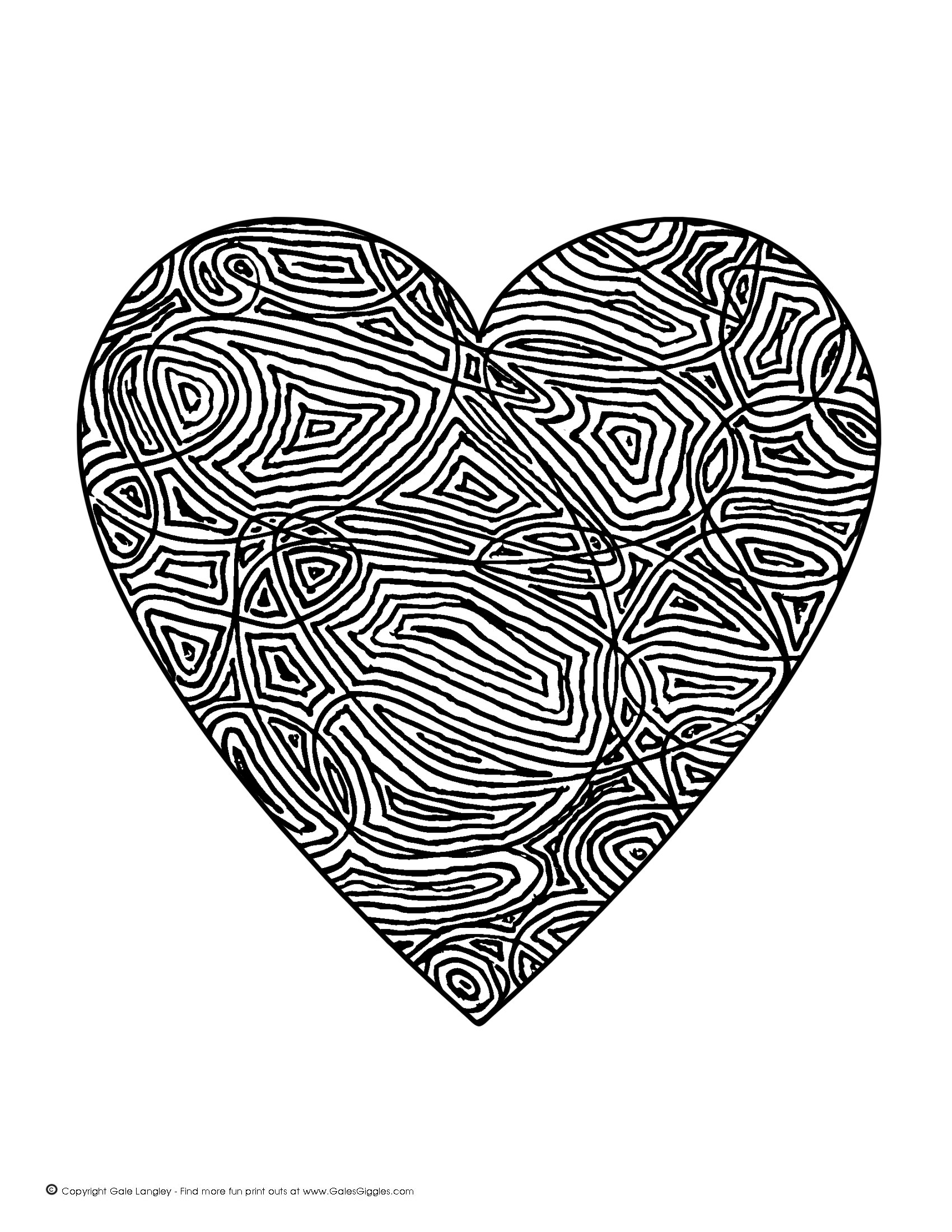1700x2200 Detailed Coloring Pages For Adults Click On The Picture Below