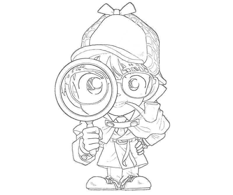 800x667 Download Detective Conan Coloring Pages Free Coloring Pages For Kids