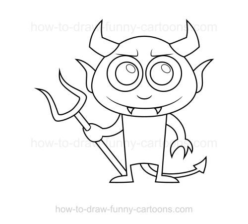 500x451 To Draw A Devil