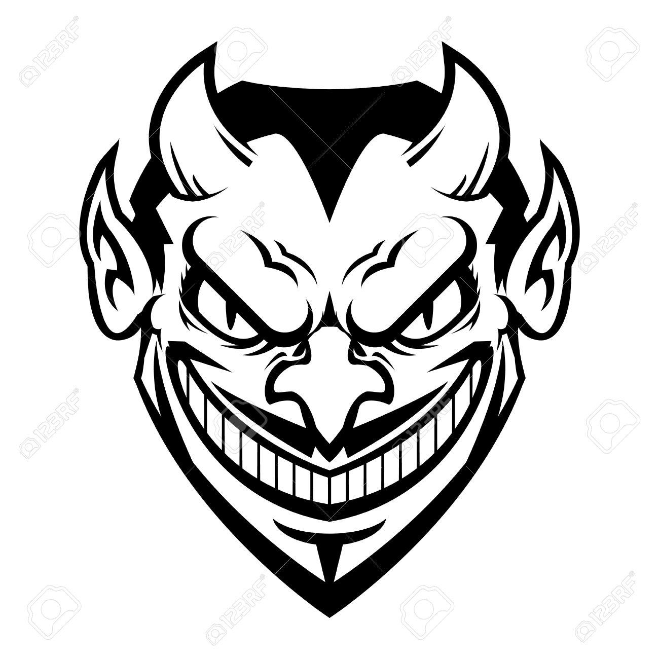 1300x1300 Devil Cartoon Head Vector Icon Royalty Free Cliparts, Vectors,