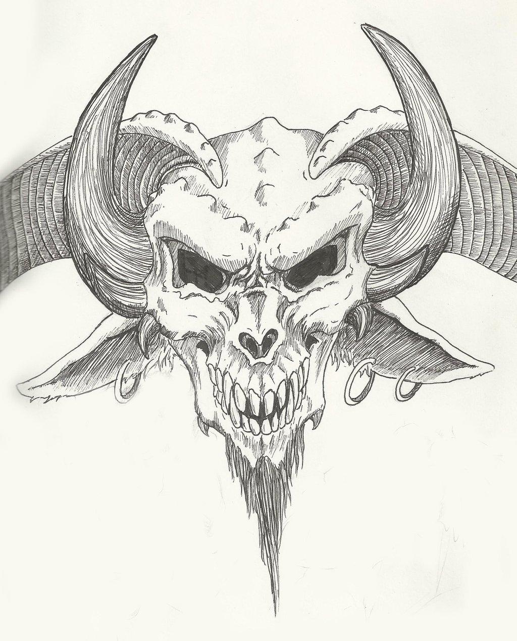 1024x1268 Devil's Head By Redsabbath