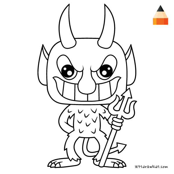 600x600 How To Draw The Devil