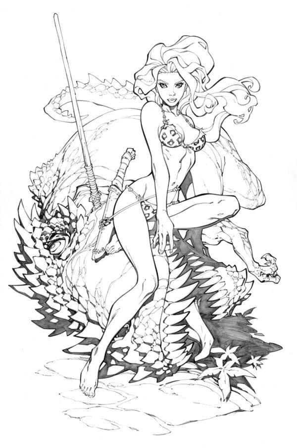 600x905 Shanna The She Devil By Randygreen