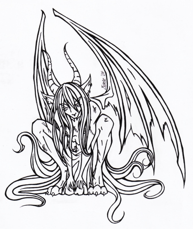 674x797 The Devil's Child