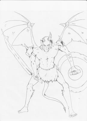 290x400 My First Devil Drawing Post