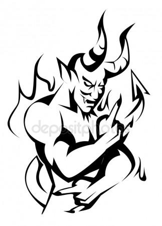 323x450 Devil Stock Vectors, Royalty Free Devil Illustrations