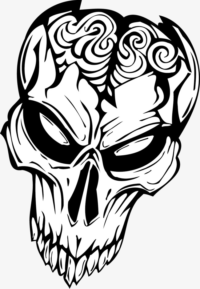 650x939 Devil Skull, Decoration, Tattoo, Vector Png And Vector For Free