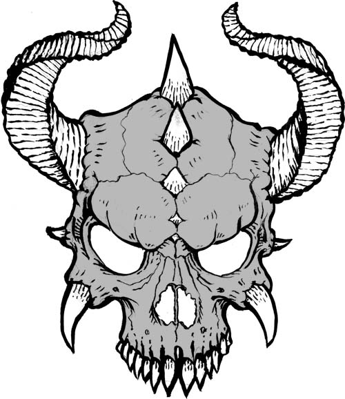 500x578 Gallery How To Draw A Cool Skull,