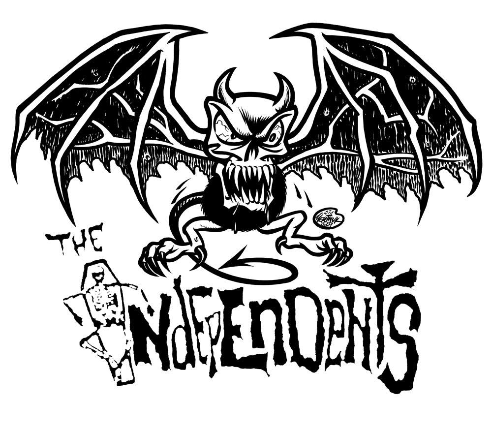 1000x876 In The Rubber Room Vampire Devil Skull Bat