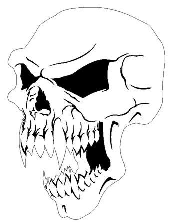 350x447 Demon Skull Drawings Evil Skull Drawings Transparent Pictures