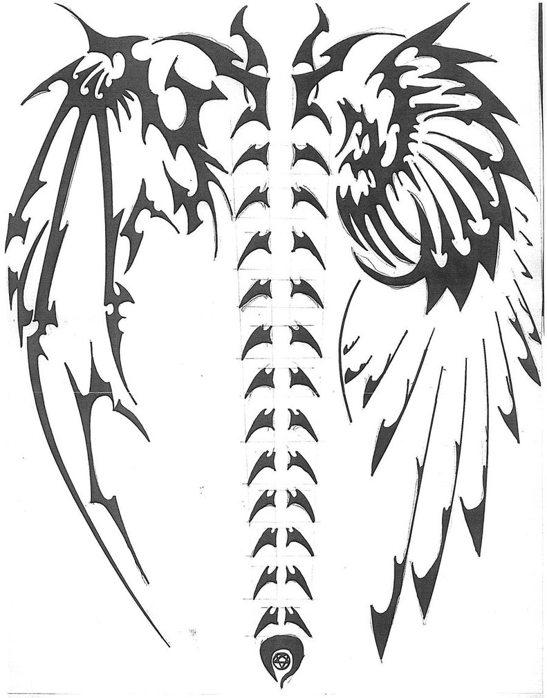 devil wings drawing at free for personal use devil wings drawing of your choice. Black Bedroom Furniture Sets. Home Design Ideas