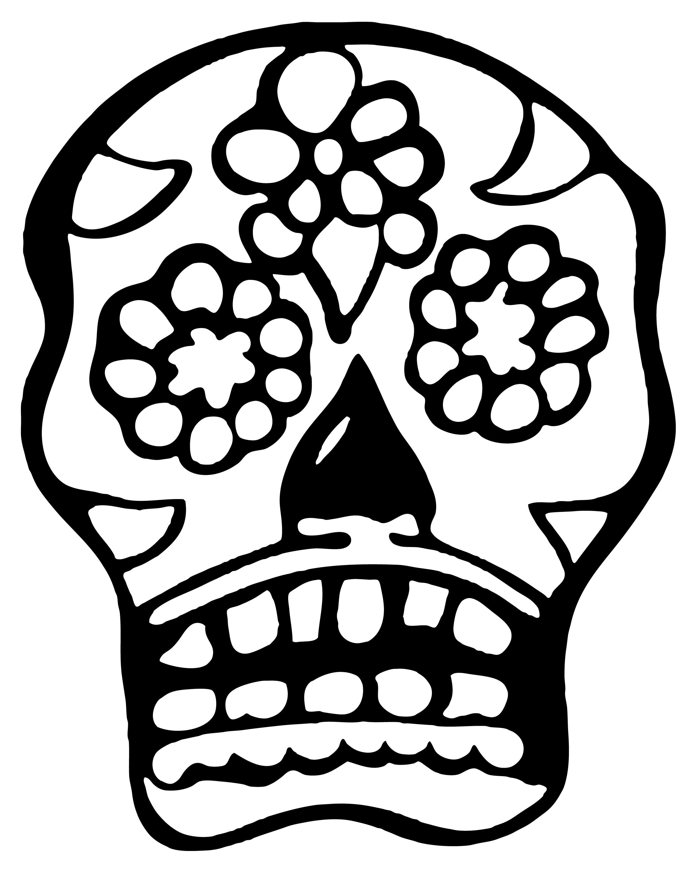 2400x3000 Beaner Bar's Dia De Los Muertos 7th Anniversary Party! ( Sock