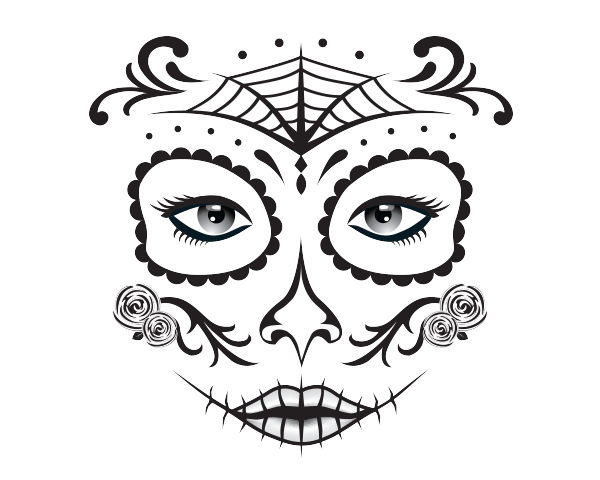 600x480 Day Of The Dead Heatheradesign
