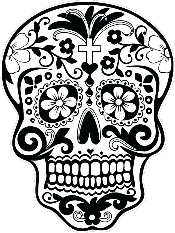 601x800 Dia De Los Muertos Coloring Pages 32 And Day Of The Dead Skulls