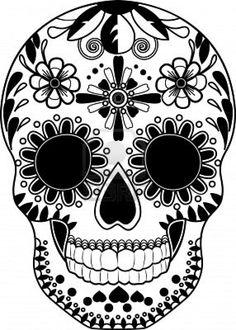 236x330 Sugar Skull Coloring Pages Sugar Skulls, Sugaring And Skull Design