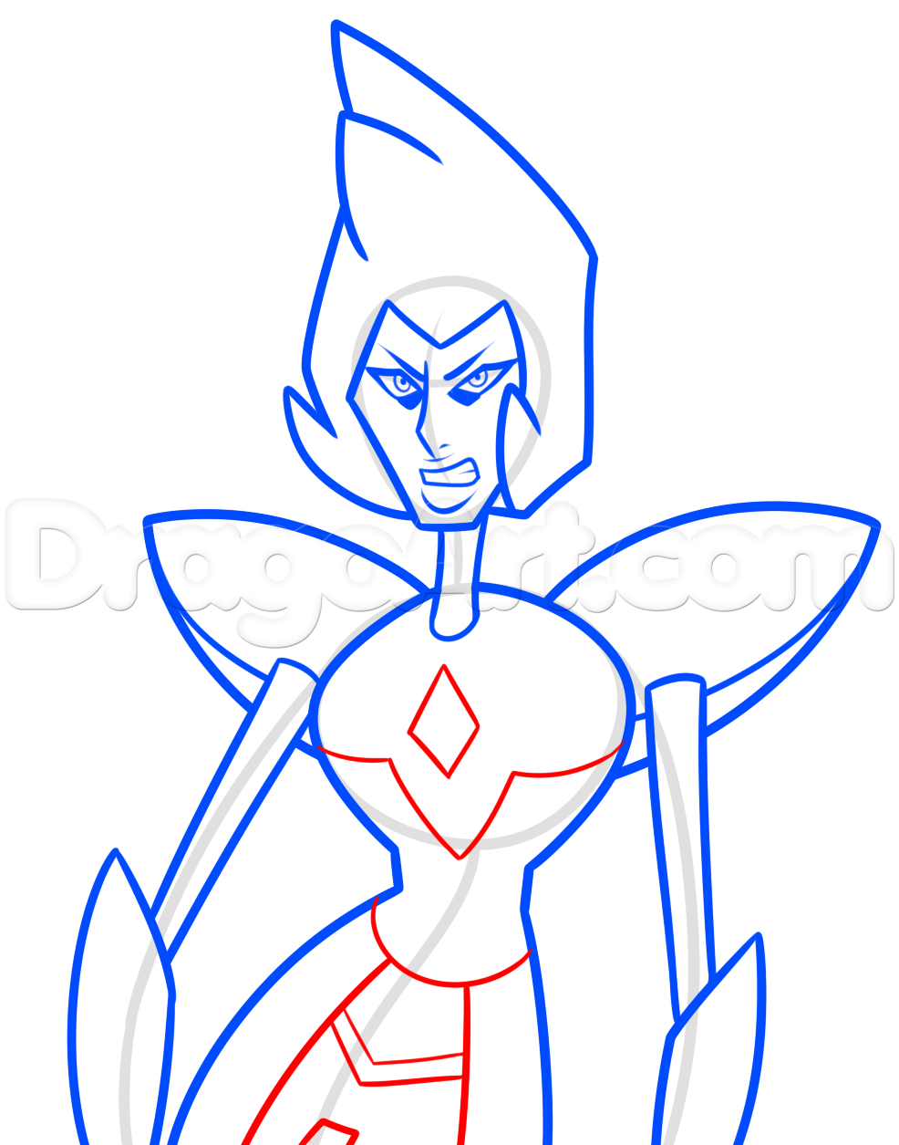 Diamond Cartoon Drawing at GetDrawings com | Free for