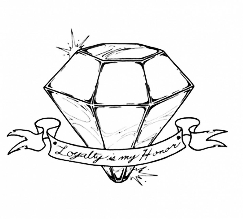 1228x1110 How To Draw A D Diamond D Diamond Drawing Diamond D D