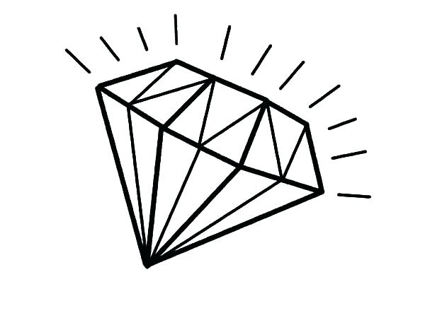 Line Drawing Diamond : Diamond drawing image at getdrawings.com free for personal use