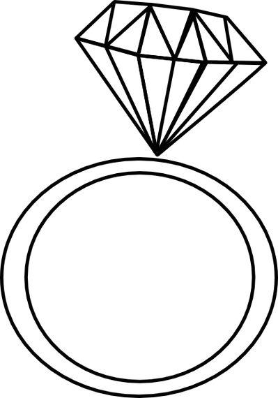 399x570 Diamond Engagement Ring Clipart Amp Diamond Engagement Ring Clip Art