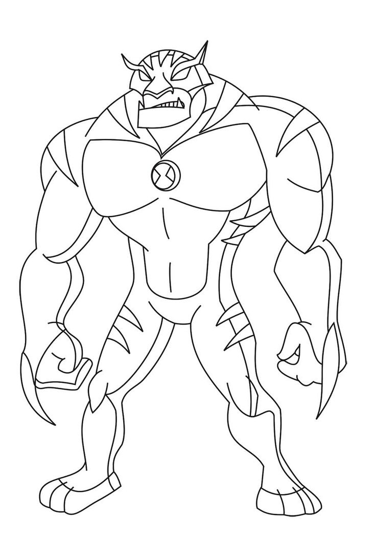 736x1088 Fine Diamond Head Ben 10 Coloring Pages Images