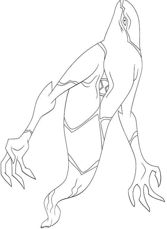 554x758 Ghostfreak Aliens Ben 10 Coloring Pages Stuff I Like Pinterest
